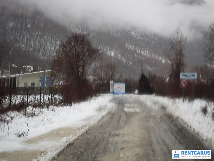 Из Черногории в Албанию