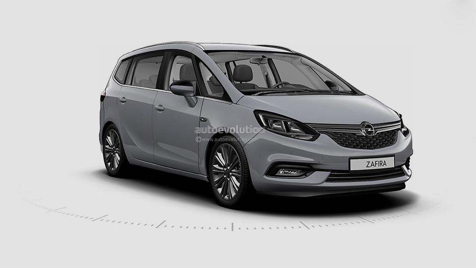 Opel Zafira teaser