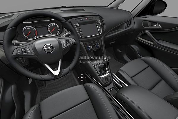 Opel Zafira teaser1