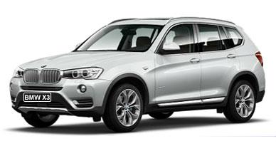BMW X3 от 5 931 руб/сутки