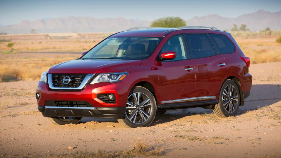 Nissan Pathfinder 2017-1