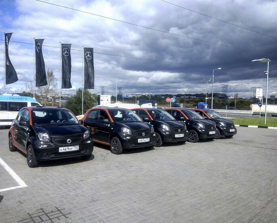Smart ForFour Youdrive