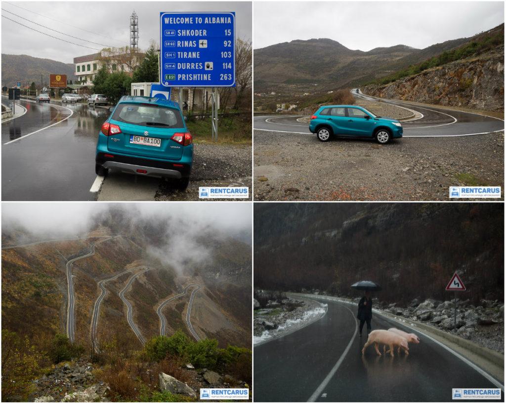 В Албанию из Черногории на машине