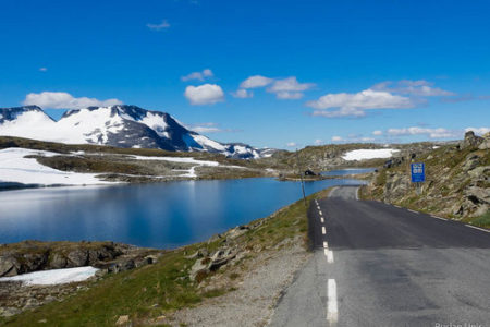 Дорога 55 Норвегия